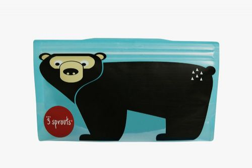 3 Sprouts Reusable Snack Bag - Bear